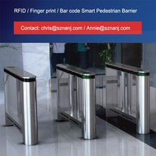 Card reader automatic swing gate barriers security counter turnstile