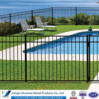 OEM & ODM steel fence galvanized fence panel and post