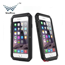 Newest Extreme Shockproof Dust Dirt Proof Aluminum Metal Military Heavy Duty Protective Case for iPhone 6/s