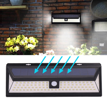 Best Factory Price Solar Powered Wall Mounted 90 LED Garden Patio Step Decorative Fence Light