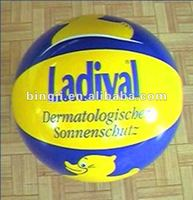 pvc inflatable volleyball toy