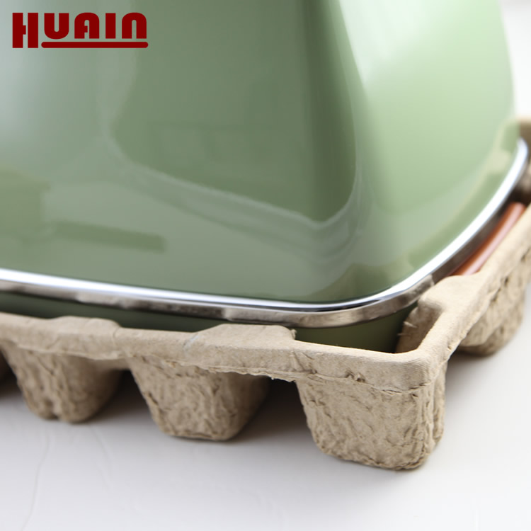 Molded Pulp Paper Biodegradable Corner Protector Packaging Tray