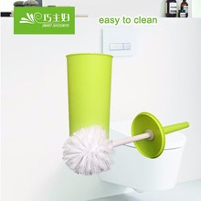 Platic toilet brush