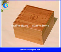 smooth small bamboo box for gift