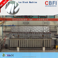Brine systerm dry ice block machine for meat freeze