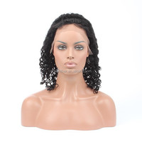 Silk Top Lace Front Wig Indian Remy, Bliss Human Hair Short Bob Lace Front Wig