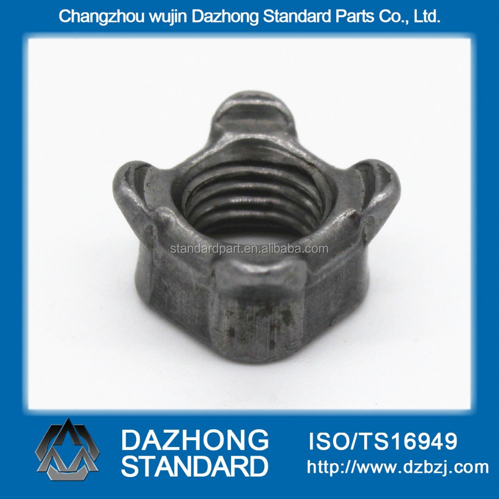 Factory supply carbon steel jis1196 square weld nuts