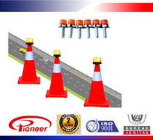 Accident site car intrusion prevention warning system