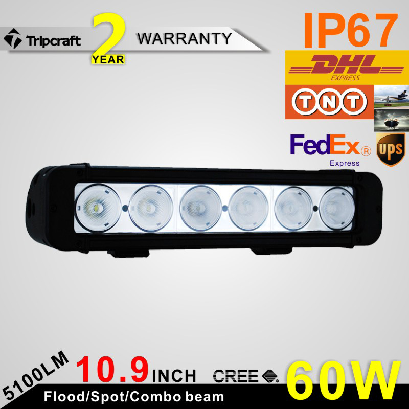 Multi beam 60w 5100LM C REE Good heat dissipation car led light for cars , trucks
