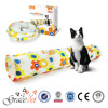 Grace Pet cat Tunnel Foldable with 2 Holes With Crinkle
