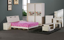 White Laminate Bedroom Furniture 9060#