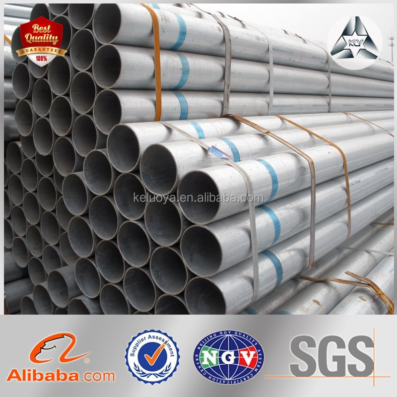 Pre Galvanized Tube Hot Dipped GI Round Steel Tube Galvanized Steel Tube for Sale Galvanized Steel Pipe