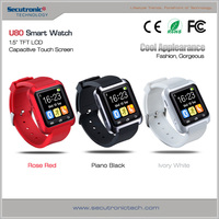 Andriod Bluetooth Smart Watch U80 With 1.5 Inch Touch Screen