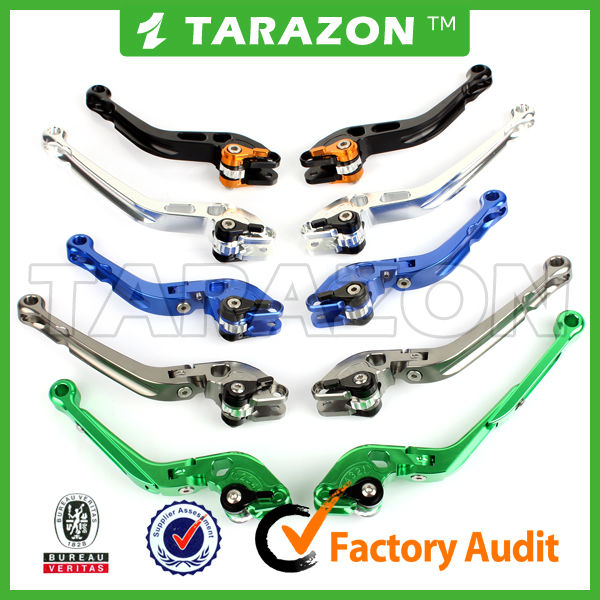 adjustable motorcycle brake & clutch lever combo for Kawasaki ZX10