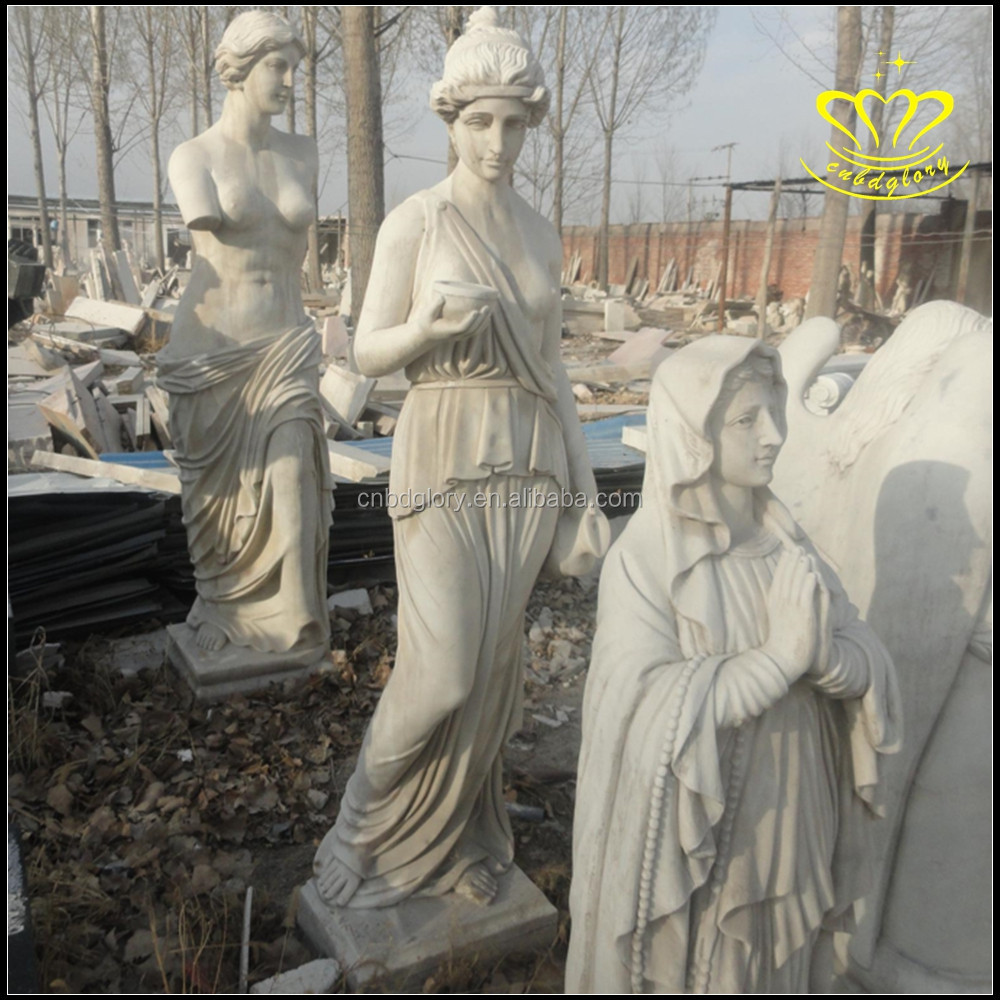 Stone carving European character sculpture Bust western figure sculpture Famous statue in the west