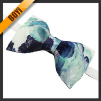 Fashion Woven Polyester Custom Bow Tie
