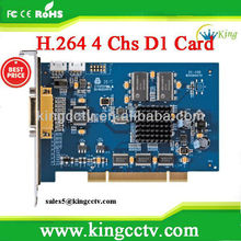 Dahua 4Channel Video & Audio H.264 DSP Compression Card:VEC0404FB