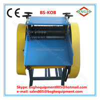 high quality cable conductor cutter and plastic cable pulling making machine