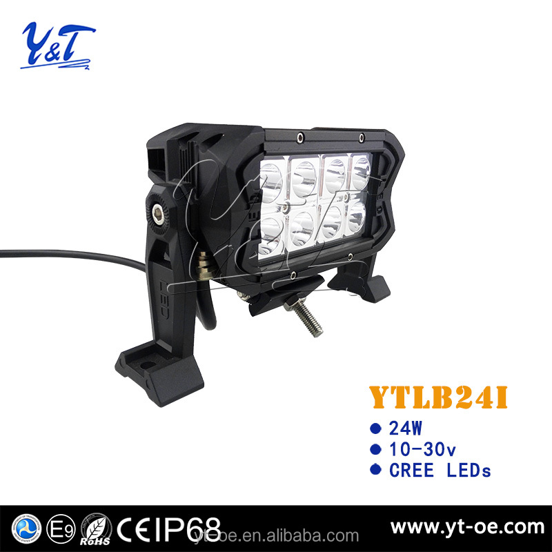 Y&t 5.9inch 240w curved led light bar 250cc dazon buggy parts