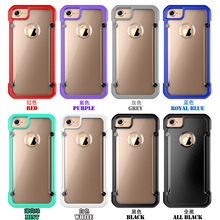 New Supcase Beetle Crystal Clear Case For Iphone 7 , Mobile Phone Hard Case For Iphone 7plus