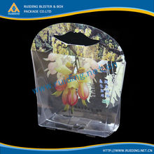 plastic cosmetic packaging box clear pvc gift packing boxes