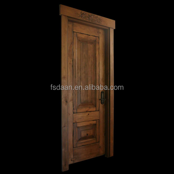New design recessed panel door 2 panel interior doors
