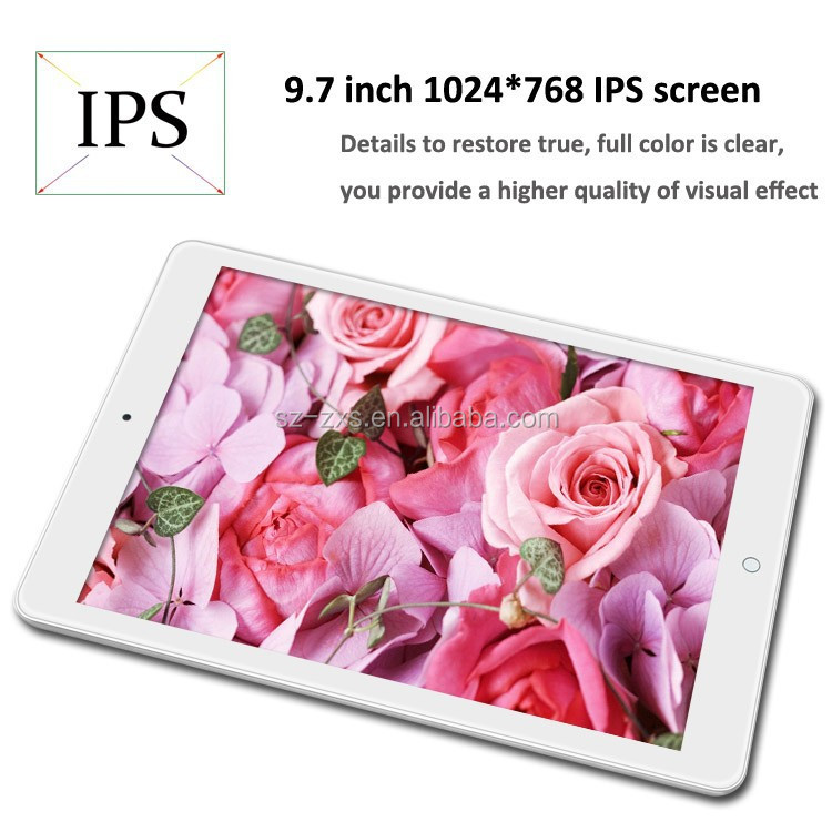 Alibaba cheapest android phone 9.7 inch A33 quad core android 4.4 tablet 16GB rom IPS screen customize tablet pc