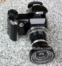 "Professional Slr type 12MP Digital camera with 2.4"" TFT screen and wide angle lens from OEM&ODM factory"
