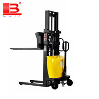High quality semi electric electric reach stacker price