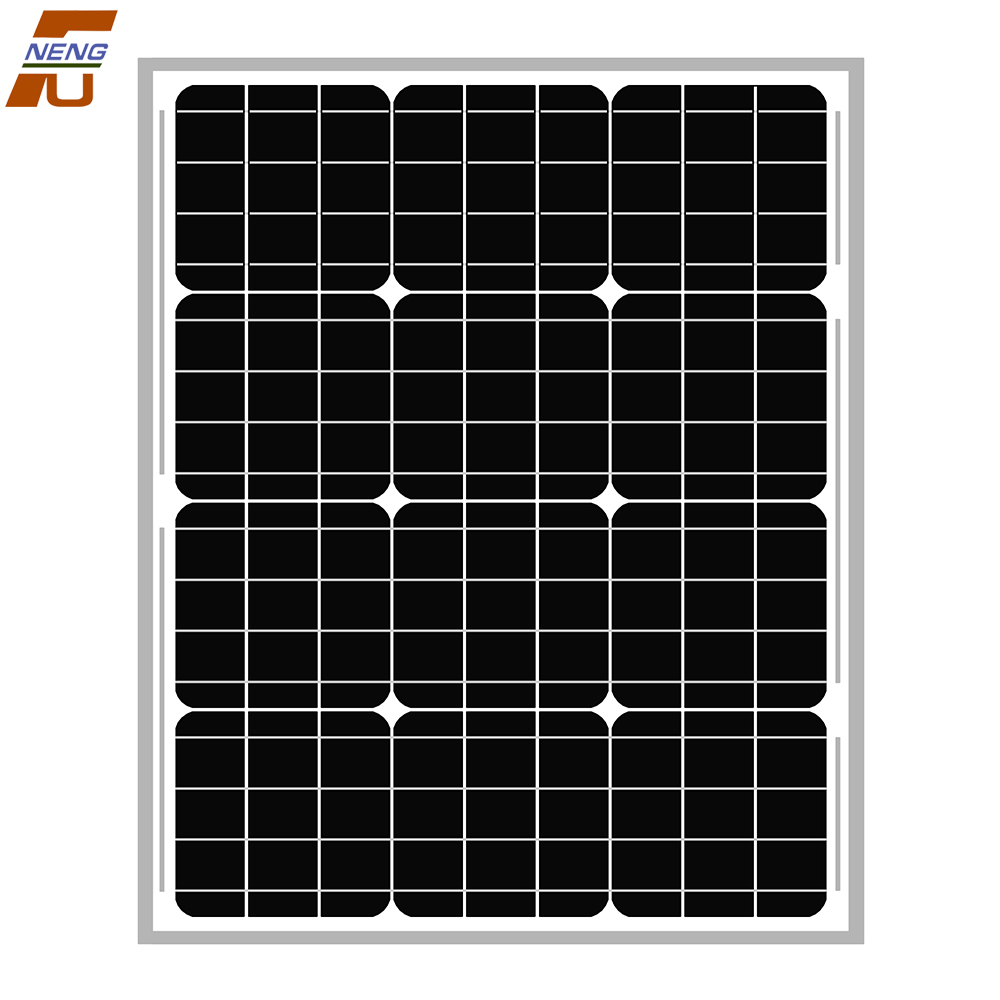 50W High transformation Competitive price Customized made solar panels