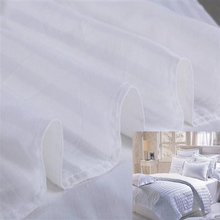 Woven Stripe Bed Sheet Fabric For Hotel