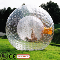 inflatable bumper ball/ body zorbing bubble ball