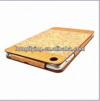 2013 Straw Mat Leather Case for iPad Mini, New Material, OEM/ODM Orders are Welcomed