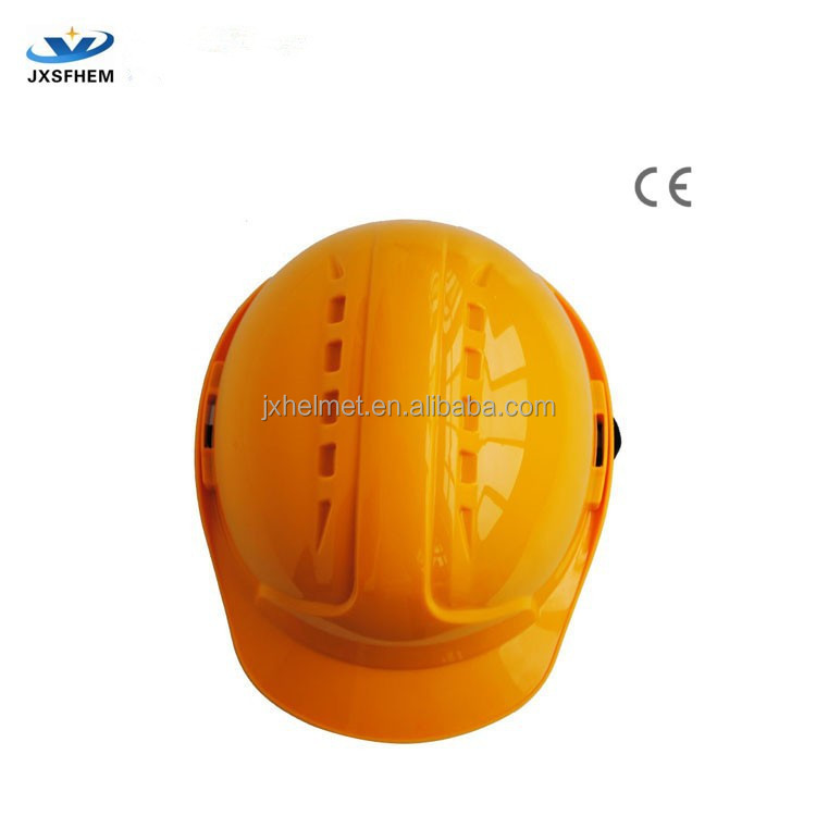 CE EN397 standard safety helmet/open face helmet for construction workers--Industrial safety products