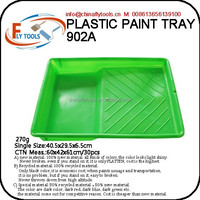 Green Plastic paint tray