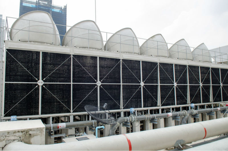 CROSSFLOW FILM FILL PACKAGE COOLING TOWER ENERGY SAVING SERIES