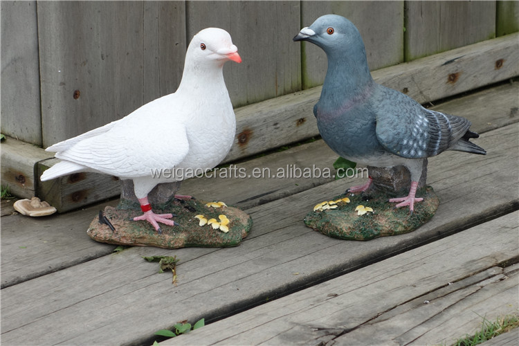 Resin crafts artificial dove