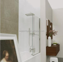 Hot sell Standard Bath Screen with Towel Rail