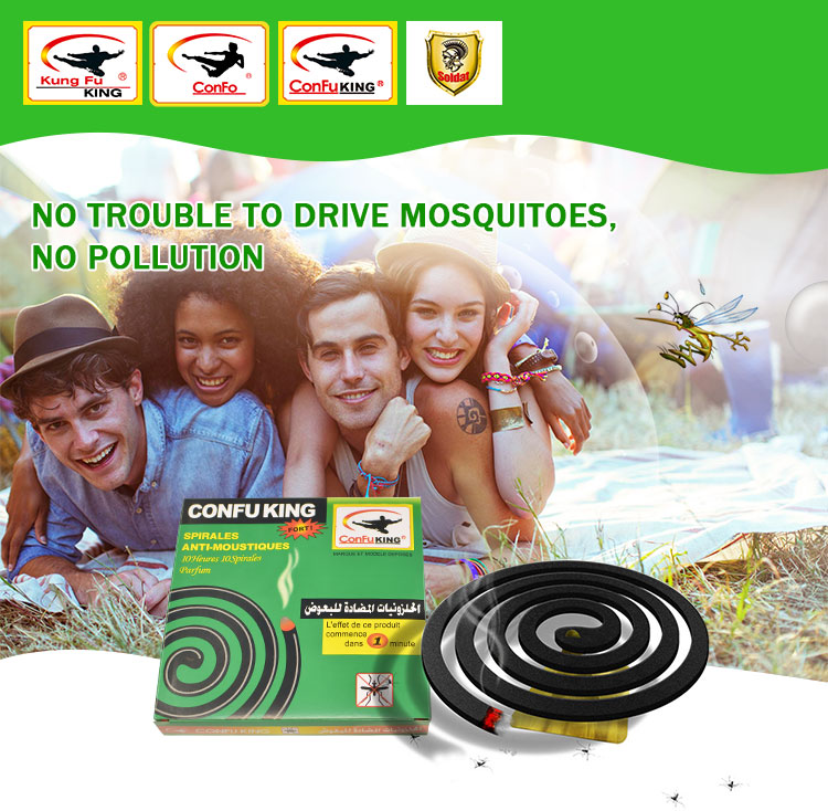 Natural plant fiber mosquito-repellent incense in bangladesh