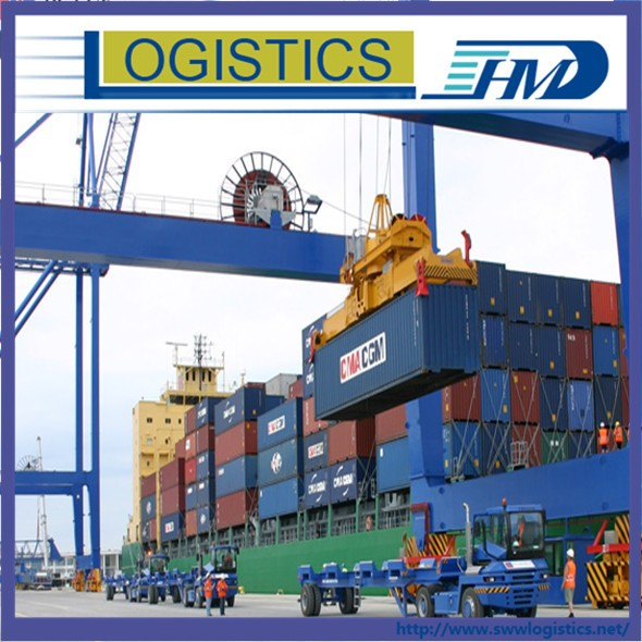 Free shipping container logistics service from China to LONG BEACH sea freight forwarder