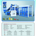 11520-15360pcs/day hollow block machine QT8-15 interlock brick making machine price for sale