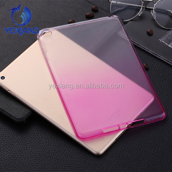 Premium Tabelt Soft Rubber Gel Case For Ipad Mini 4 Colorful TPU Case