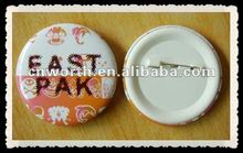 hot selling tin plate badge for 2012