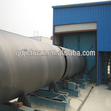 CE approved steel pipe roller conveyor shot blasting machine