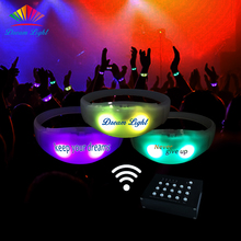 RFID Control Led Wristband Programmable Remote Controlled Led Bracelet