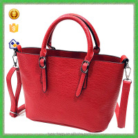 YTF-P-STB129 Fashion Red Women Tote Bag Wholesale China Handbag Manufacturer