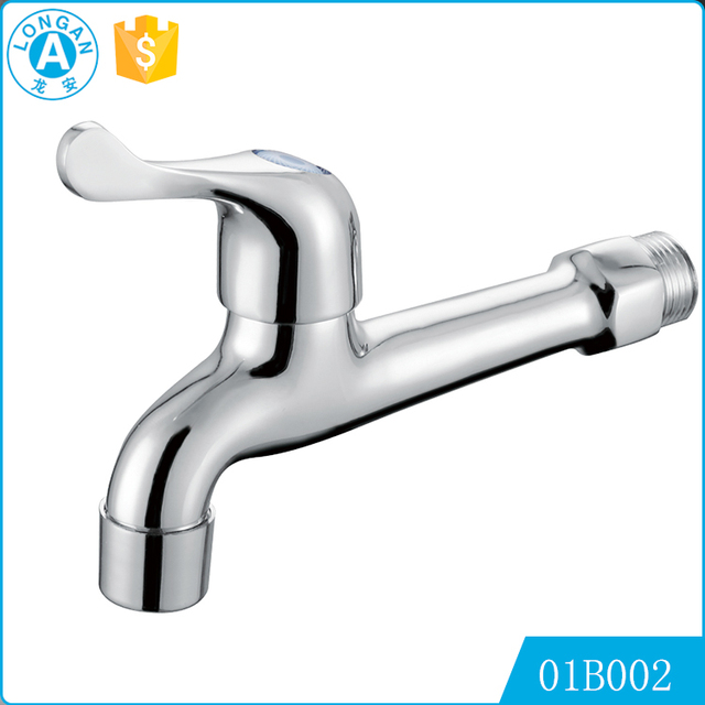 Easy control rapid Chrome Plating Brass basin Bibcock faucet