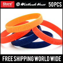 Rubber wristbands | Personalized man wrist band | Customized silicone bracelet wristbands