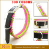 name brand nylon dog collars and leashes metal buckle