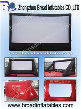 2012 hot selling Inflatable Movie Screen Inflatable